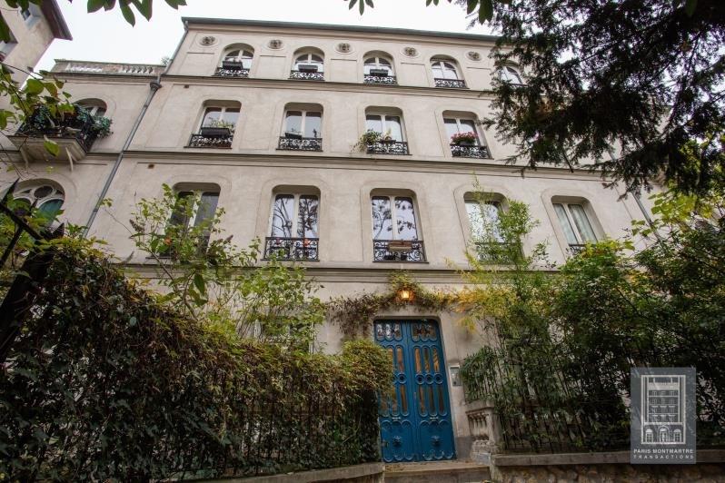 Vente de prestige appartement Paris 18ème 1260000€ - Photo 3