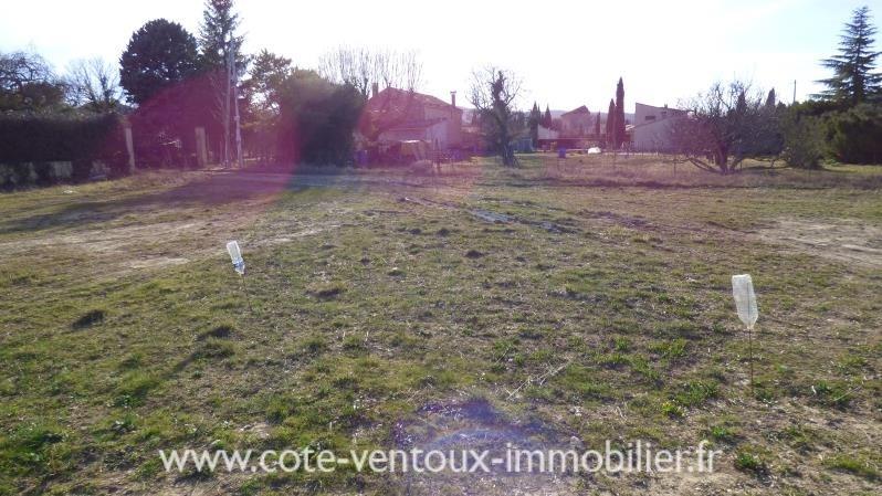 Verkoop  stukken grond Entrechaux 82000€ - Foto 2