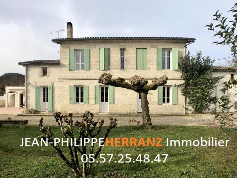 Sale house / villa Coutras 368000€ - Picture 1