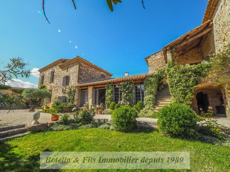 Immobile residenziali di prestigio casa Uzes 1680000€ - Fotografia 2