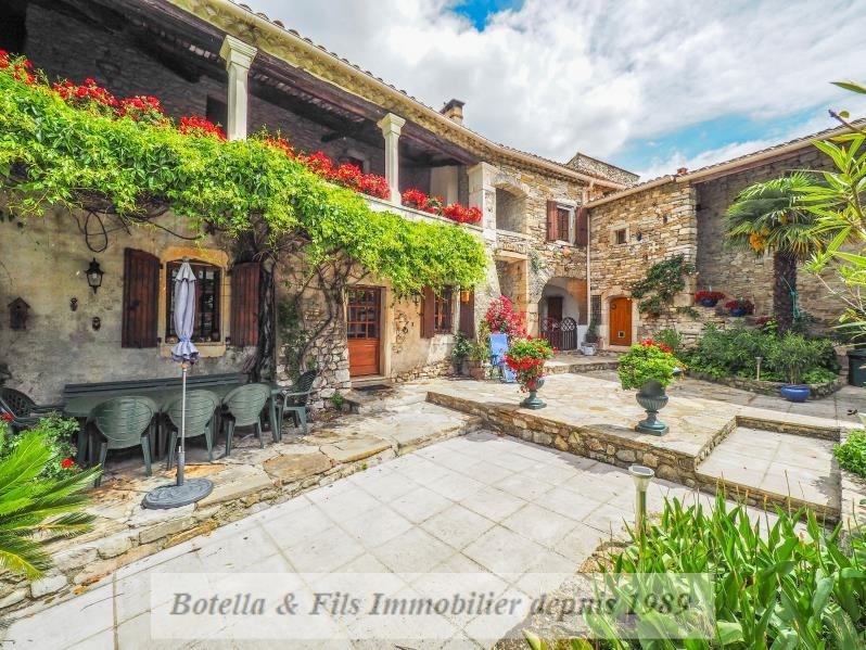 Immobile residenziali di prestigio casa Uzes 1055000€ - Fotografia 1