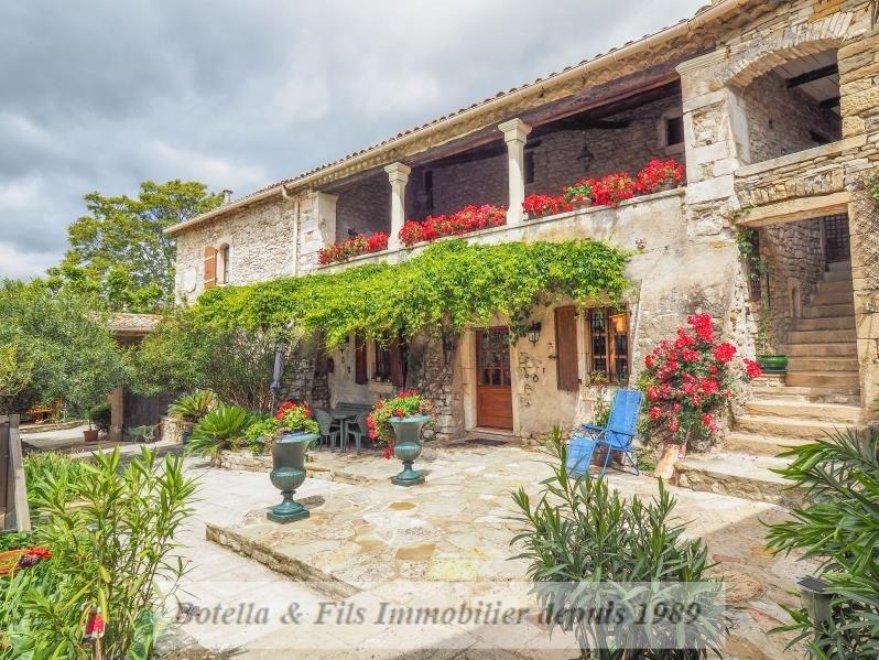 Venta de prestigio  casa Uzes 1055000€ - Fotografía 12