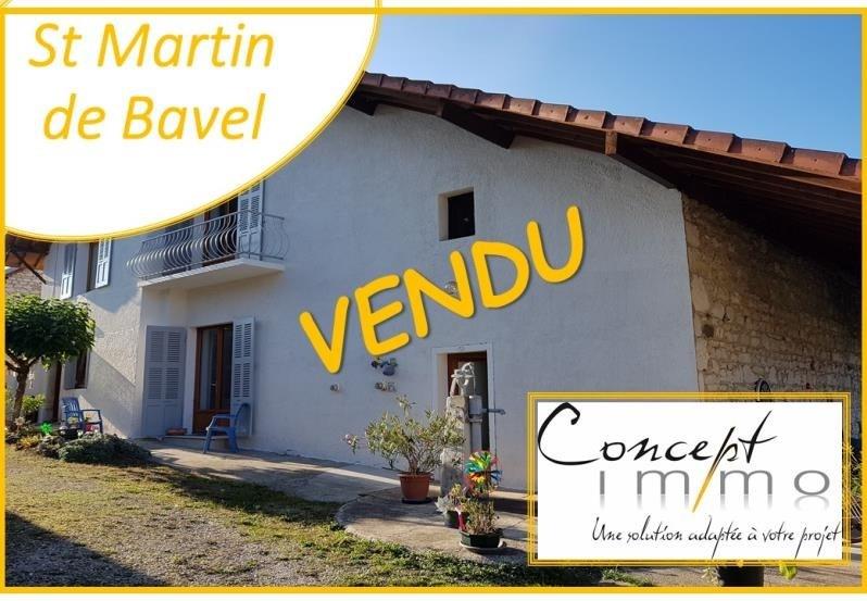 Sale house / villa St martin de bavel 298000€ - Picture 1
