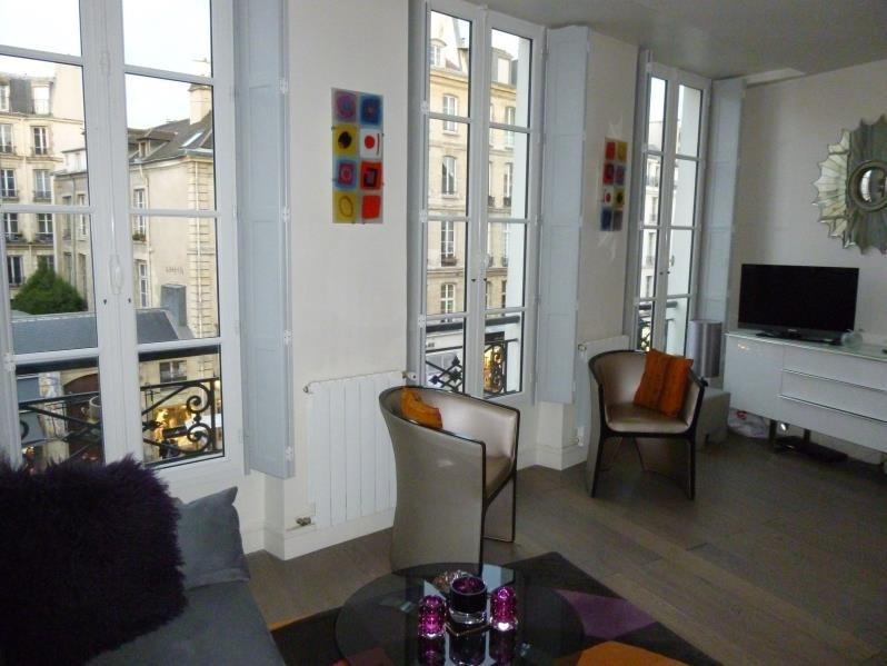 Sale apartment Paris 4ème 475000€ - Picture 2