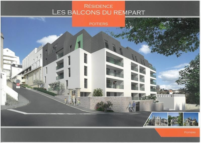 Vente appartement Poitiers 209 000€ - Photo 1