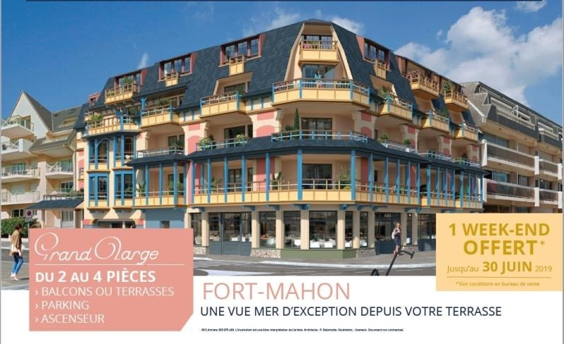 Vente appartement Fort mahon plage 475 000€ - Photo 1