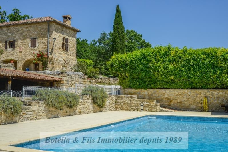 Deluxe sale house / villa Uzes 1 685 000€ - Picture 2