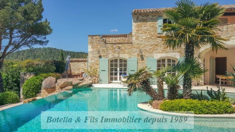 Venta de prestigio  casa Uzes 980000€ - Fotografía 1