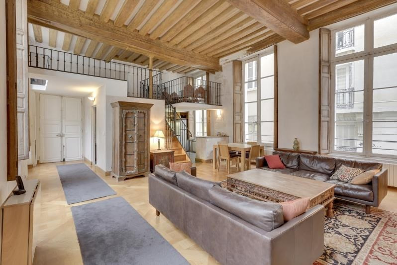 Deluxe sale apartment Paris 4ème 1 800 000€ - Picture 1