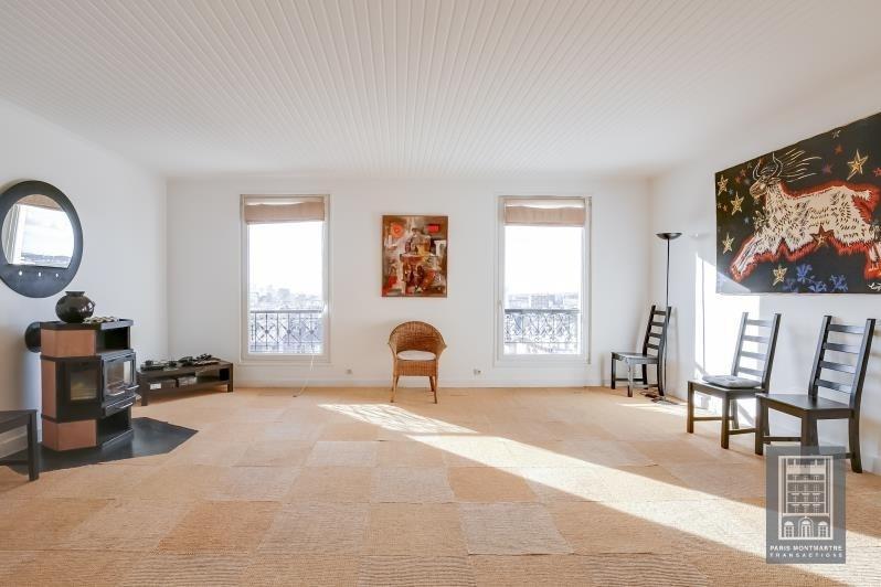 Vente de prestige appartement Paris 18ème 1320000€ - Photo 4
