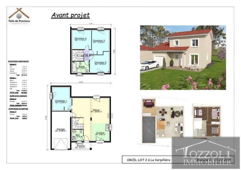 Sale house / villa La verpilliere 276576€ - Picture 2