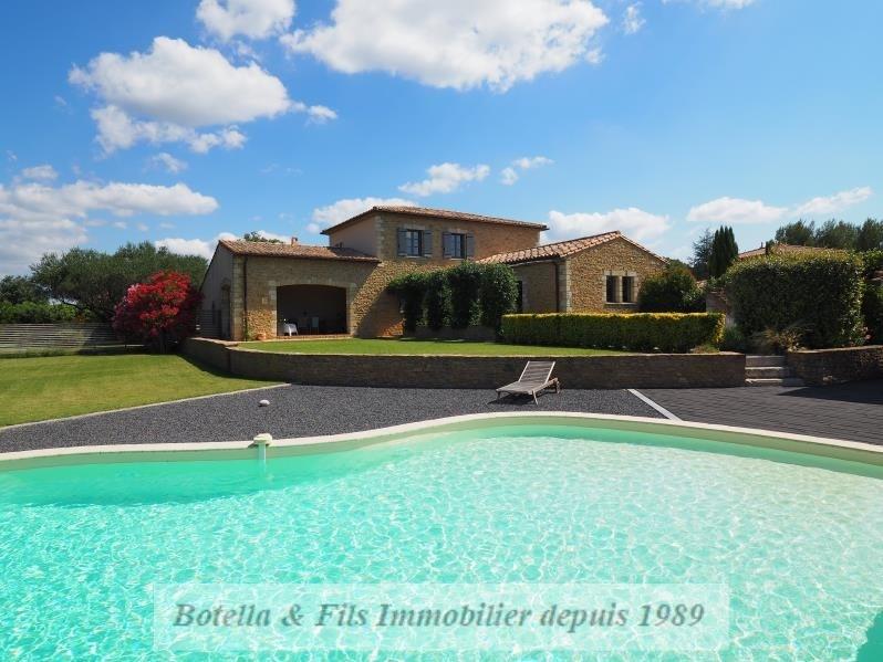 Verkoop van prestige  huis Uzes 890000€ - Foto 1