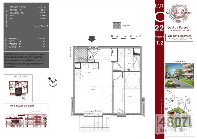 Vente appartement Bonneville 165000€ - Photo 2