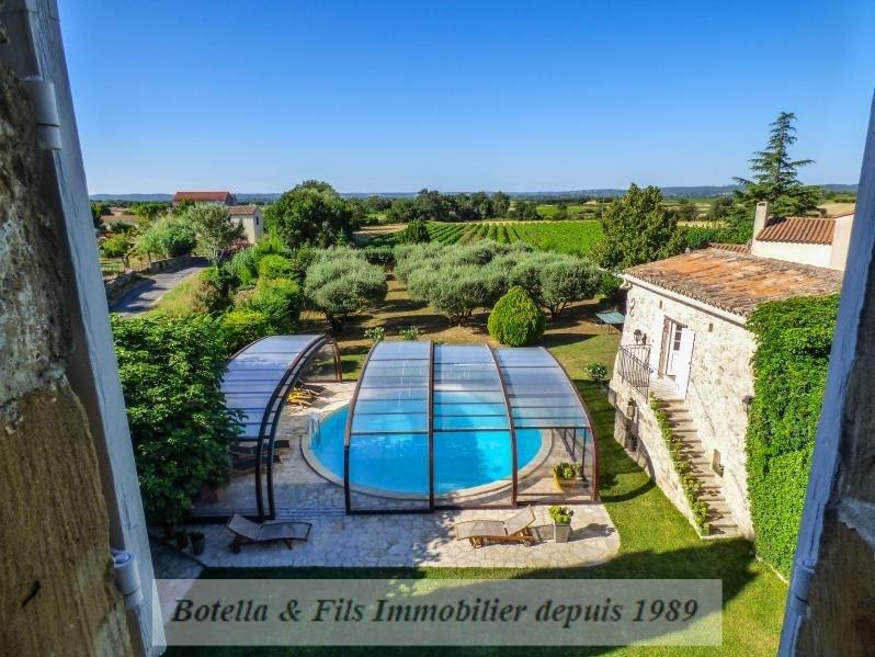 Verkauf von luxusobjekt haus Uzes 685000€ - Fotografie 1
