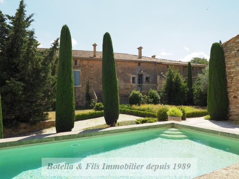 Verkoop van prestige  huis Uzes 1260000€ - Foto 1