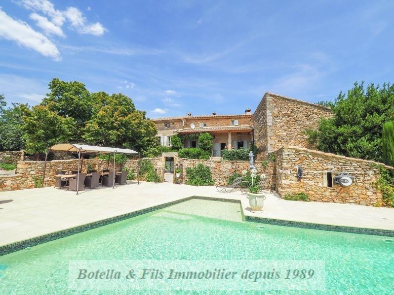 Verkoop van prestige  huis Uzes 1395000€ - Foto 1