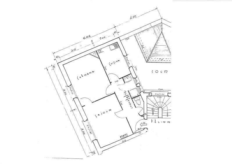 Rental apartment Les pavillons sous bois 660€ CC - Picture 2