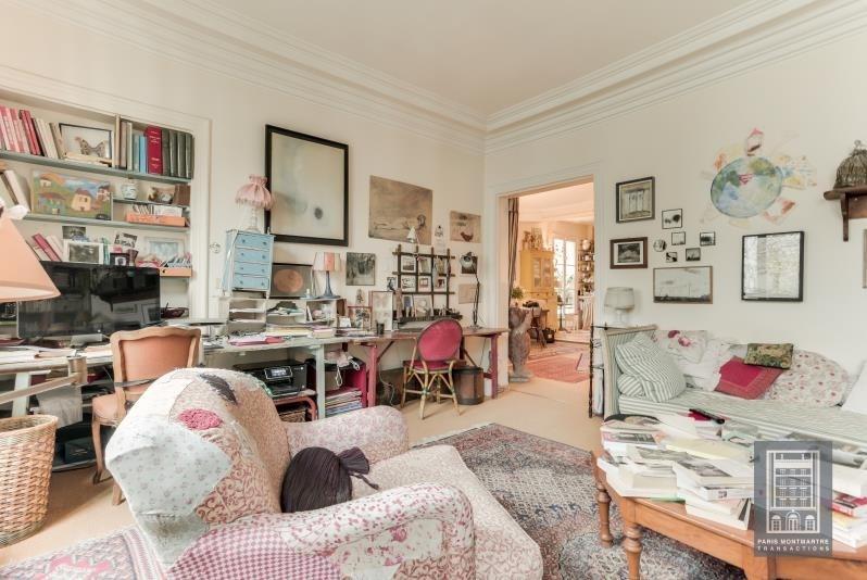 Vente de prestige appartement Paris 18ème 1260000€ - Photo 4