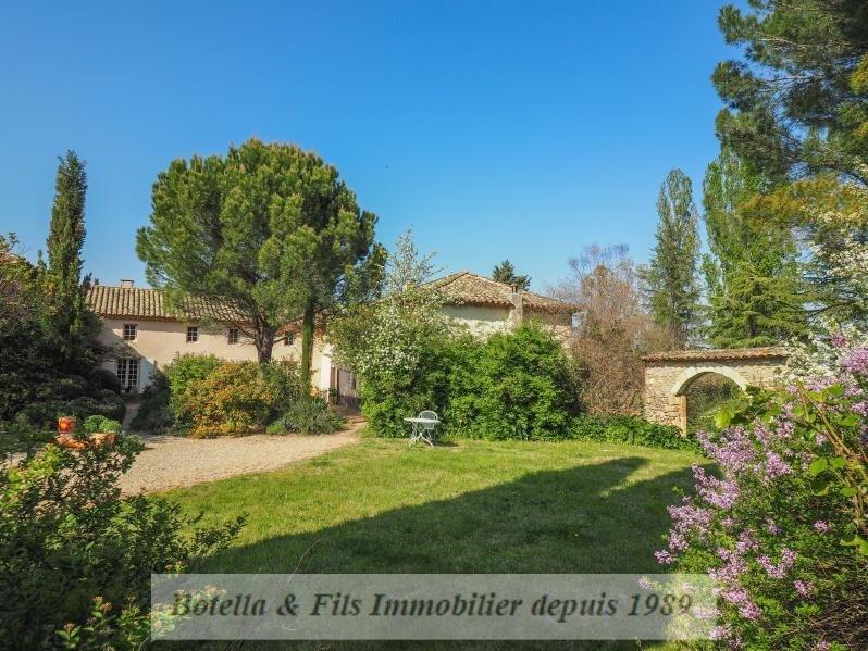 Vente de prestige maison / villa Uzes 998000€ - Photo 1