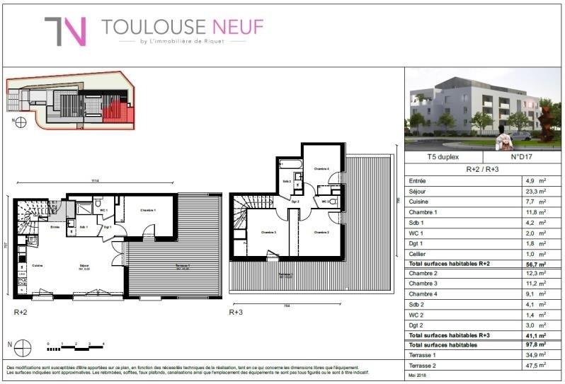 Vente appartement Auzeville 316000€ - Photo 10