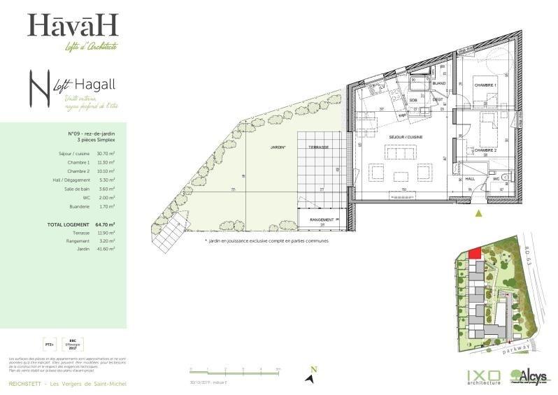 Vente appartement Reichstett 230000€ - Photo 4