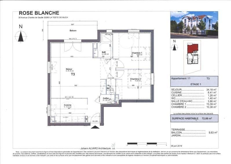 Venta  apartamento La teste de buch 329700€ - Fotografía 3