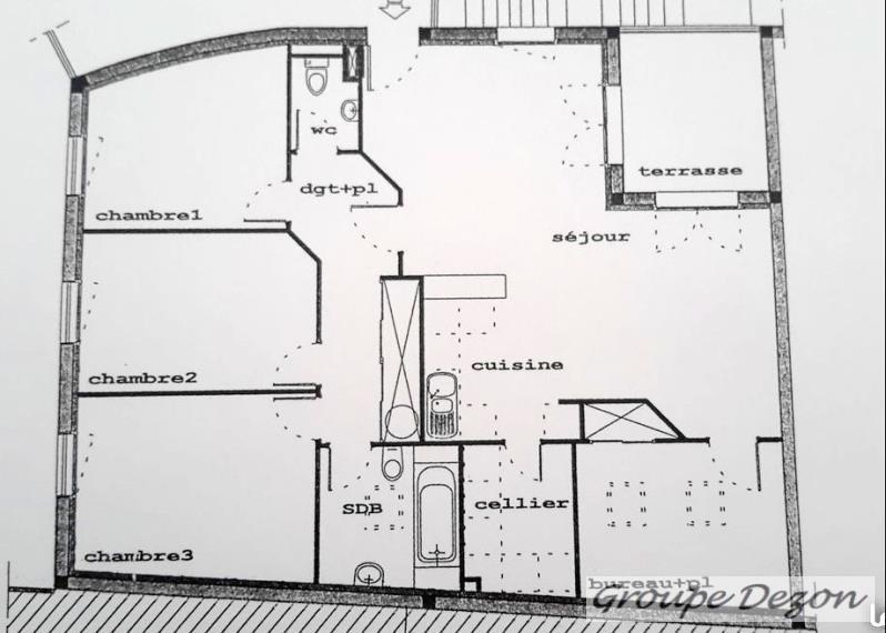 Vente appartement Bruguières 183000€ - Photo 2