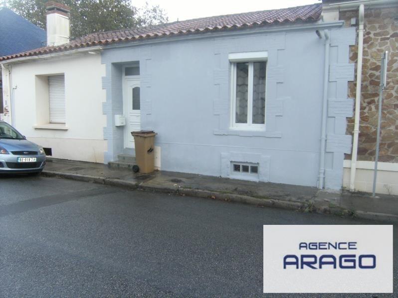 Vente maison / villa Talmont st hilaire 139000€ - Photo 1