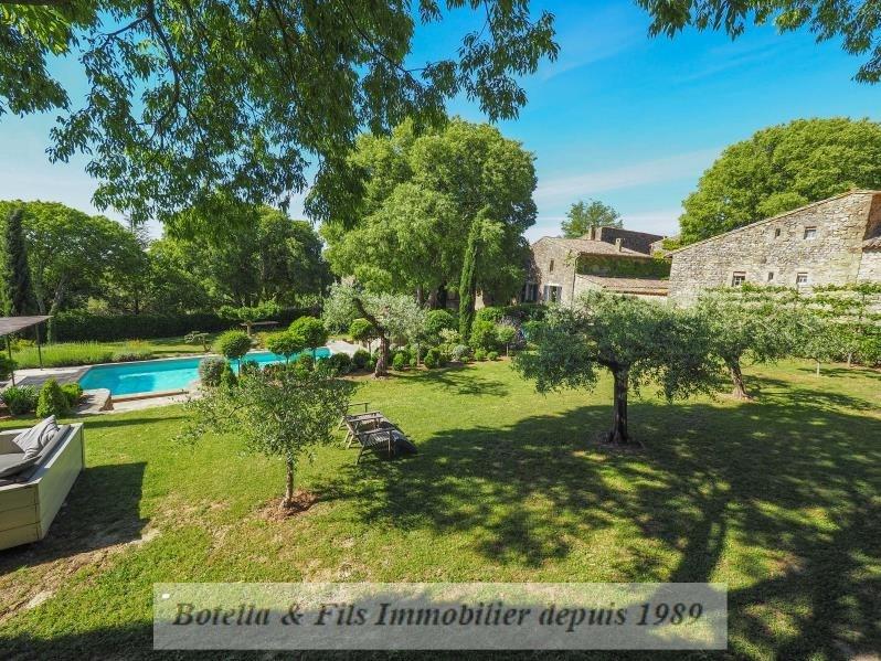 Immobile residenziali di prestigio casa Uzes 1200000€ - Fotografia 1