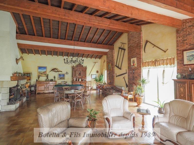 Venta de prestigio  casa Uzes 650000€ - Fotografía 6