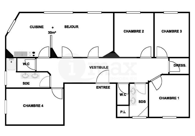 Deluxe sale apartment Levallois perret 1190000€ - Picture 8