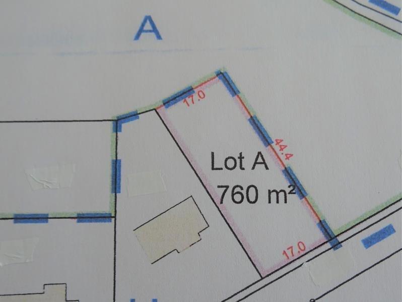 Venta  terreno Longnes proche 87000€ - Fotografía 3
