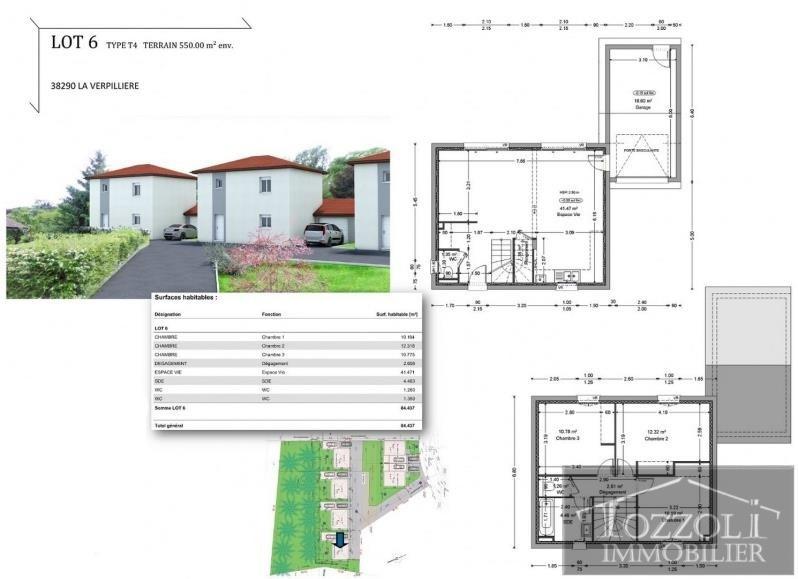 Sale house / villa La verpilliere 223000€ - Picture 2