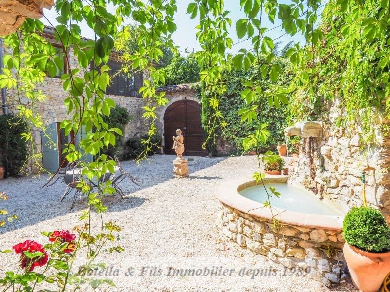 Venta de prestigio  casa Uzes 825000€ - Fotografía 3
