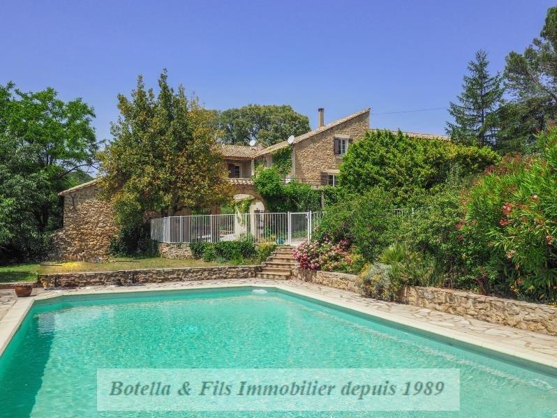Immobile residenziali di prestigio casa Uzes 1196000€ - Fotografia 1