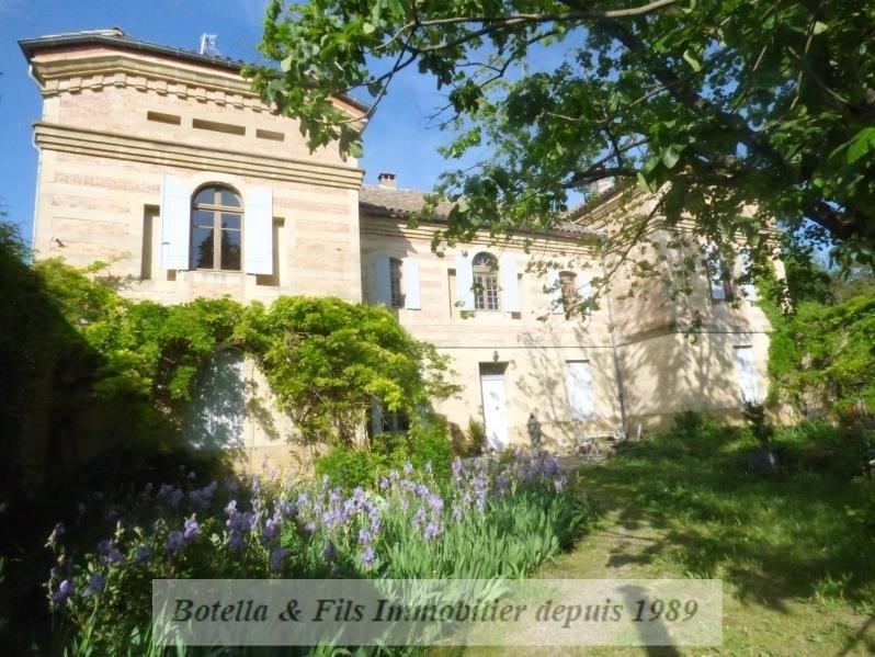 Verkoop van prestige  huis Uzes 975000€ - Foto 1