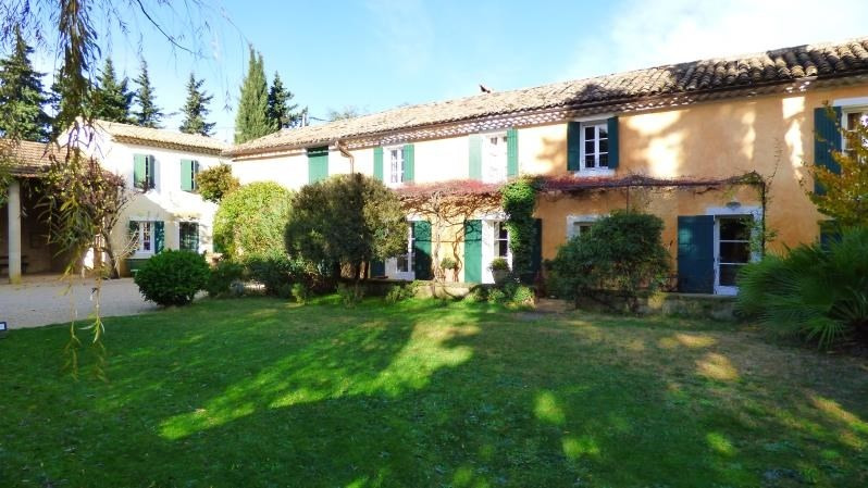 Deluxe sale house / villa Carpentras 620 000€ - Picture 1