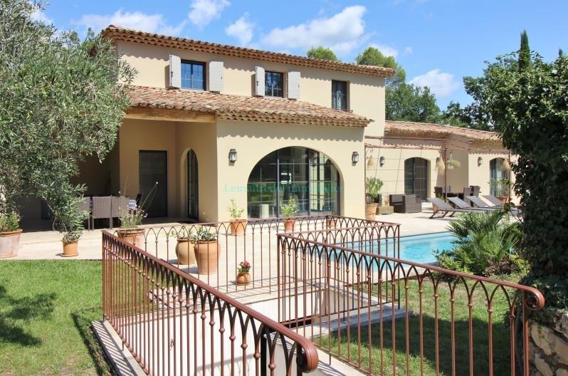 Vente de prestige maison / villa Tourrettes 1290000€ - Photo 4
