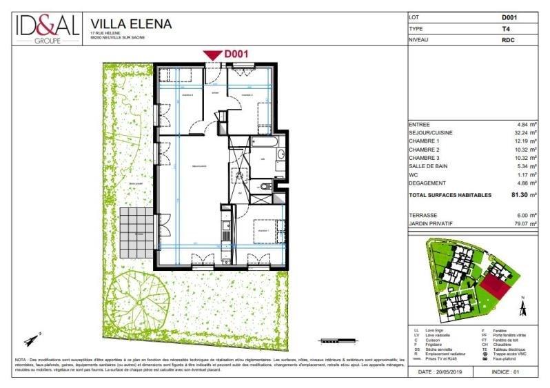 Prodotto dell' investimento appartamento Neuville sur saone 310000€ - Fotografia 3