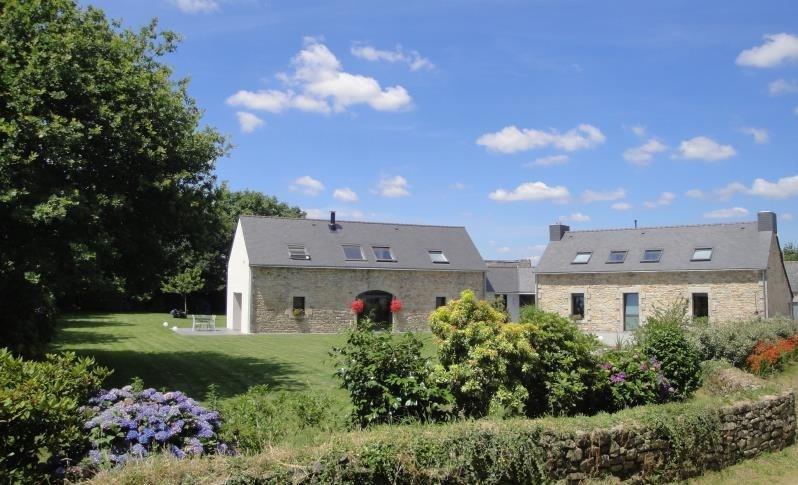 Revenda residencial de prestígio casa St evarzec 555500€ - Fotografia 7