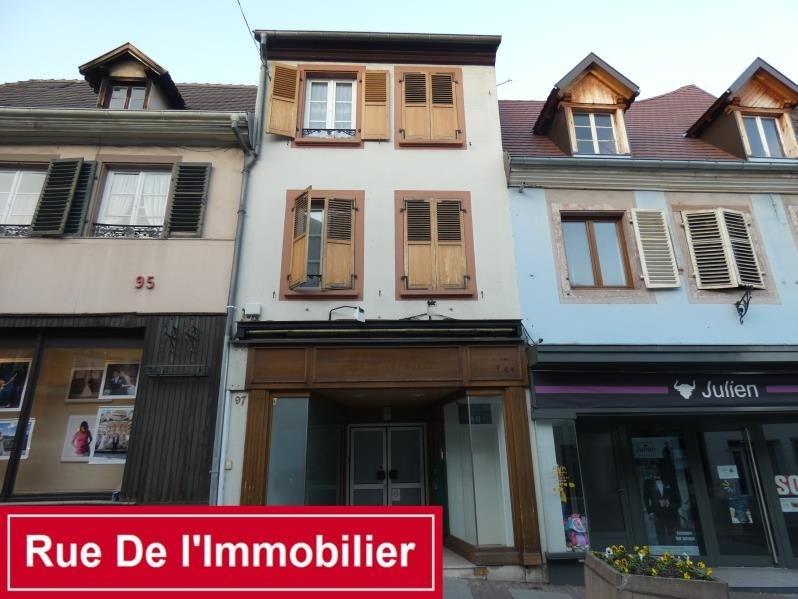 Produit d'investissement immeuble Saverne 312700€ - Photo 1