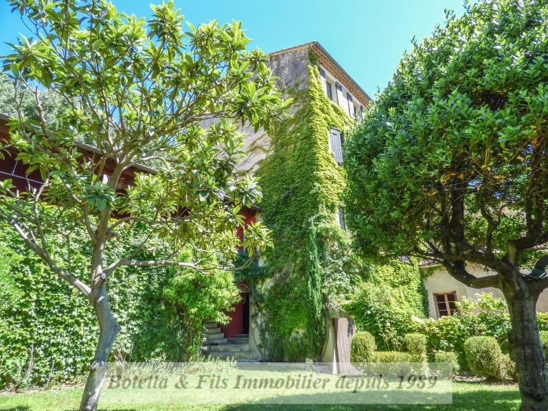 Venta de prestigio  casa Uzes 639000€ - Fotografía 1