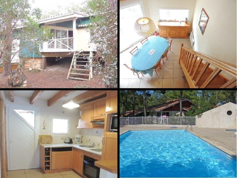Alquiler vacaciones  casa Lacanau-ocean 655€ - Fotografía 1