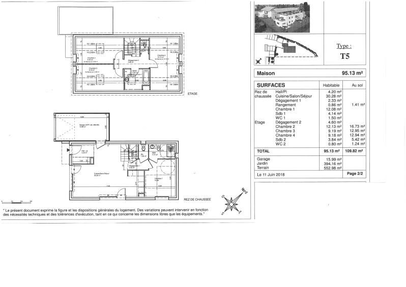 Vente maison / villa Serre les sapins 295000€ - Photo 4