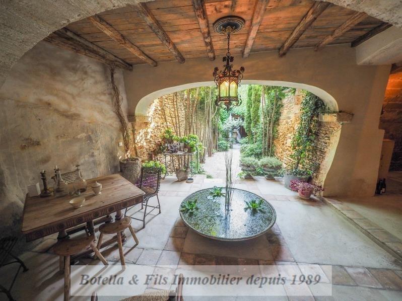 Immobile residenziali di prestigio casa Uzes 1580000€ - Fotografia 1