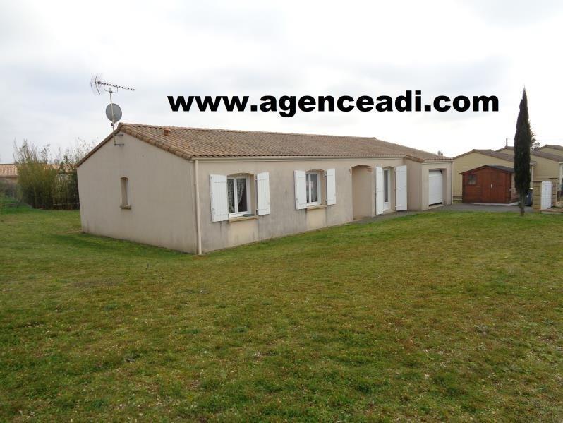 Vente maison / villa Pamproux 110000€ - Photo 1