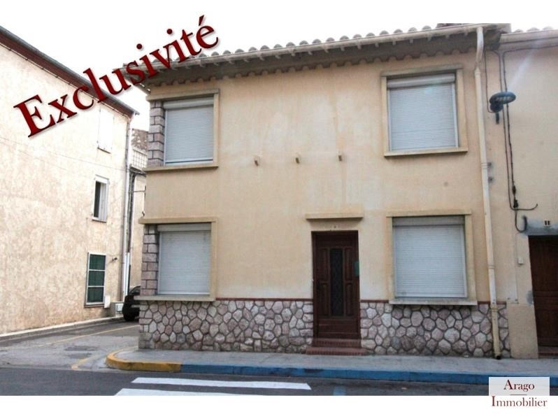 Sale house / villa Salses le chateau 127800€ - Picture 1
