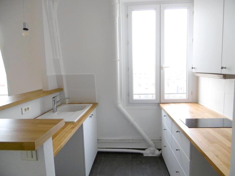 Rental apartment Levallois 1212€ CC - Picture 2