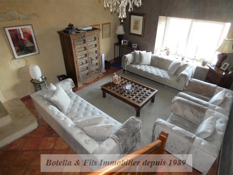 Verkoop van prestige  huis Aigueze 849000€ - Foto 5