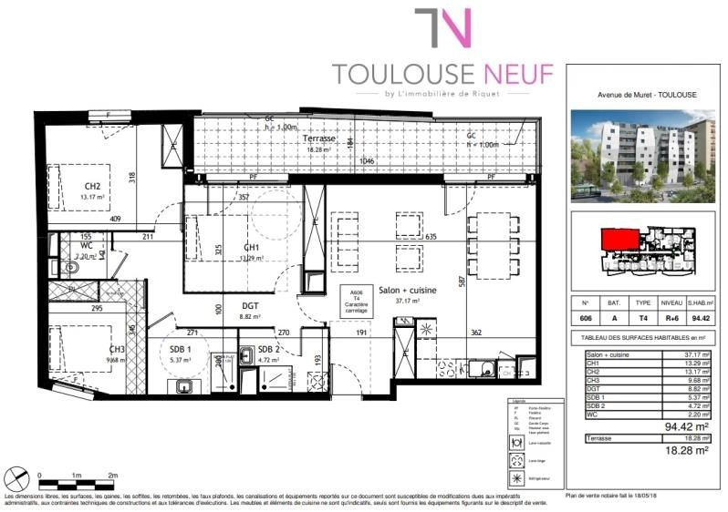 Vente appartement Toulouse 480 000€ - Photo 5